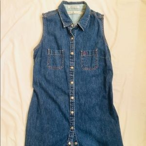 90s Tommy Hilfigre denim dress